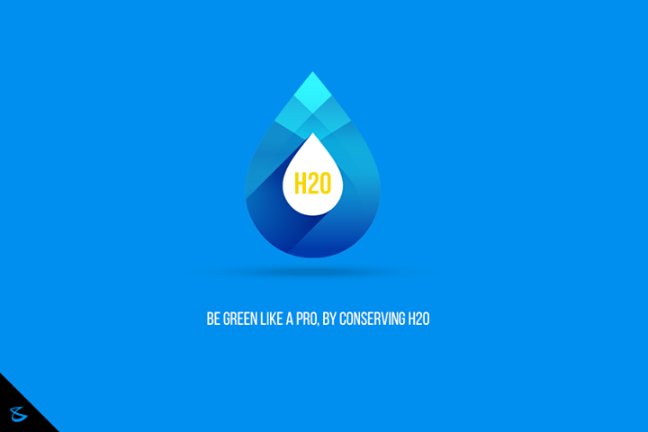 Be green like a pro, by conserving H2O.  #WorldWaterDay #SaveWater #SaveLife #GoGreen