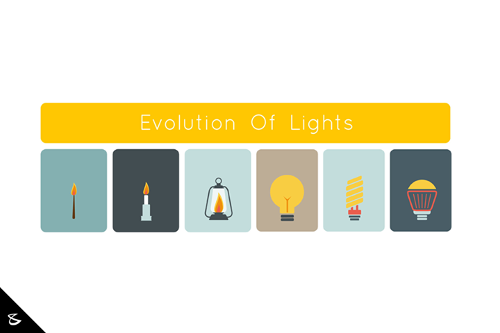 Evolution of lights!  #Business #Technology #Innovations