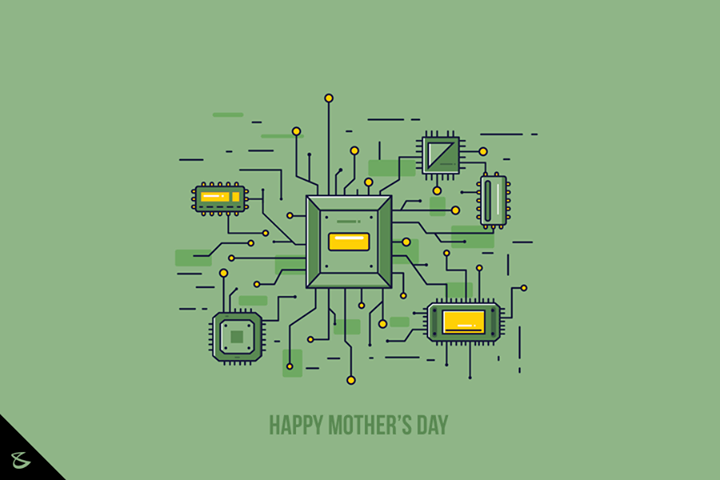 To the one who moulds our lives & our computers both ;)   #HappyMothersDay #CompuBrain #TechMoms #MotherBoards