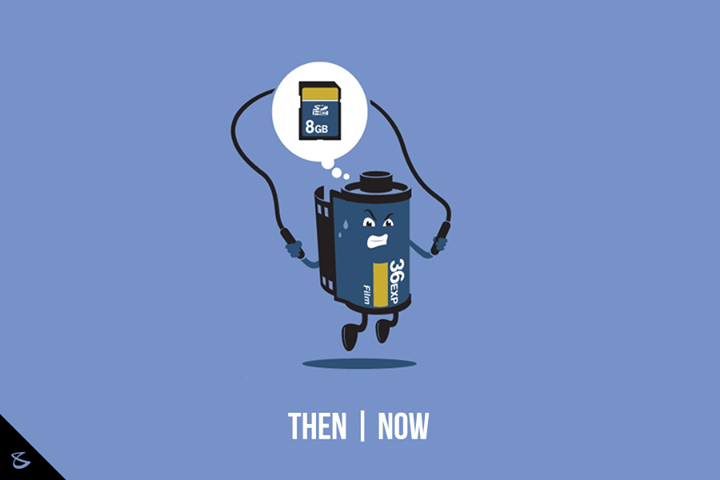 // Then & Now //  #Business #Technology #Innovations