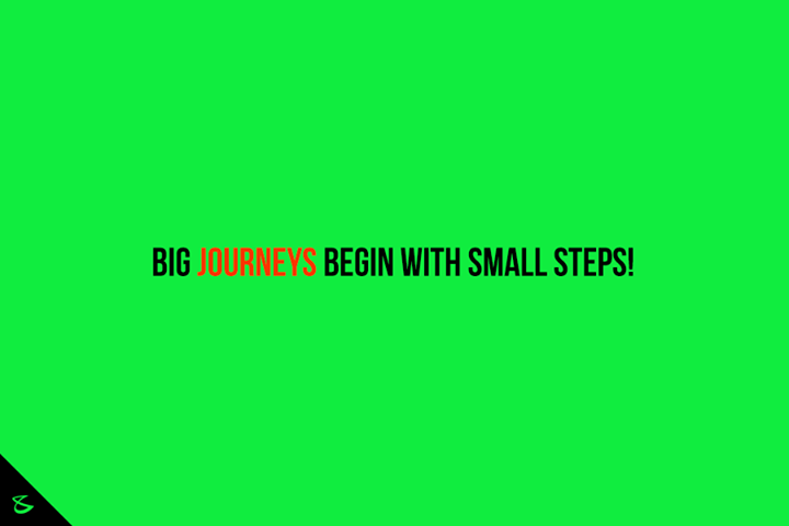 Take the leap with small steps!  #Business #Technology #Innovations