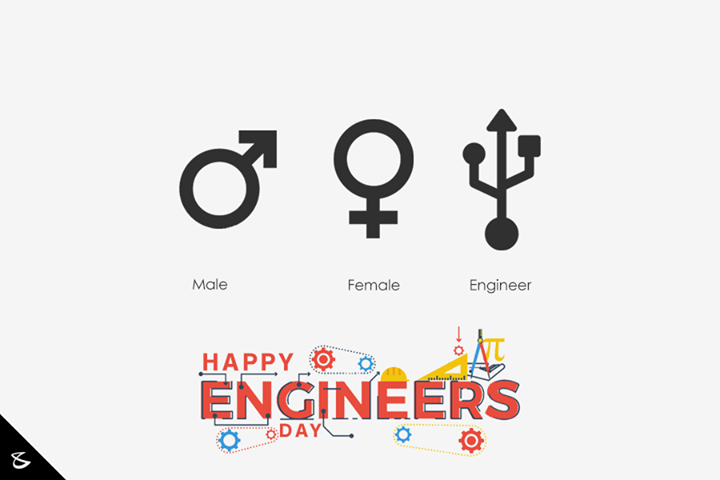 To all the #Engineers, it's our Day!   #HappyEngineersDay #CompuBrain #Business #Technology #Innovations