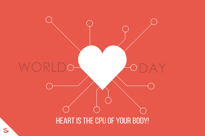 Respect the #CPU of your #Body!   #WorldHeartDay #HeartDay #CompuBrain #Ahmedabad