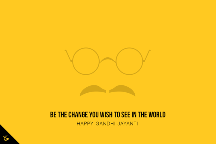 Let's follow the path of truth and Ideas that inspires, greetings on #GandhiJayanti  #MahatmaGandhi #Bapu #CompuBrain