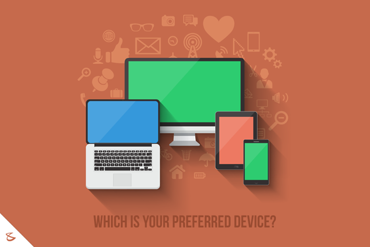 Which is your preferred device?  #Business #Technology #Innovations #DigitalAgencyIndia