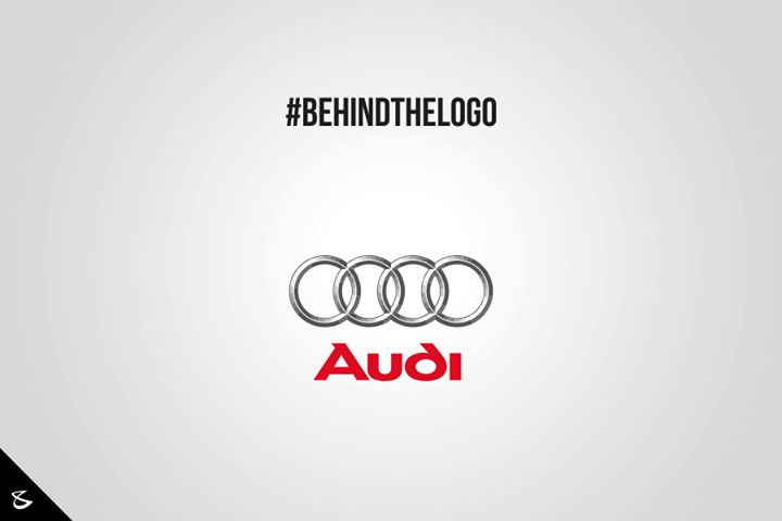 The four circles represent the 4 companies that were a part of the Auto-Union Consortium in 1932, namely, DKW, Horch, Wanderer and Audi.  #Business #Technology #Innovations