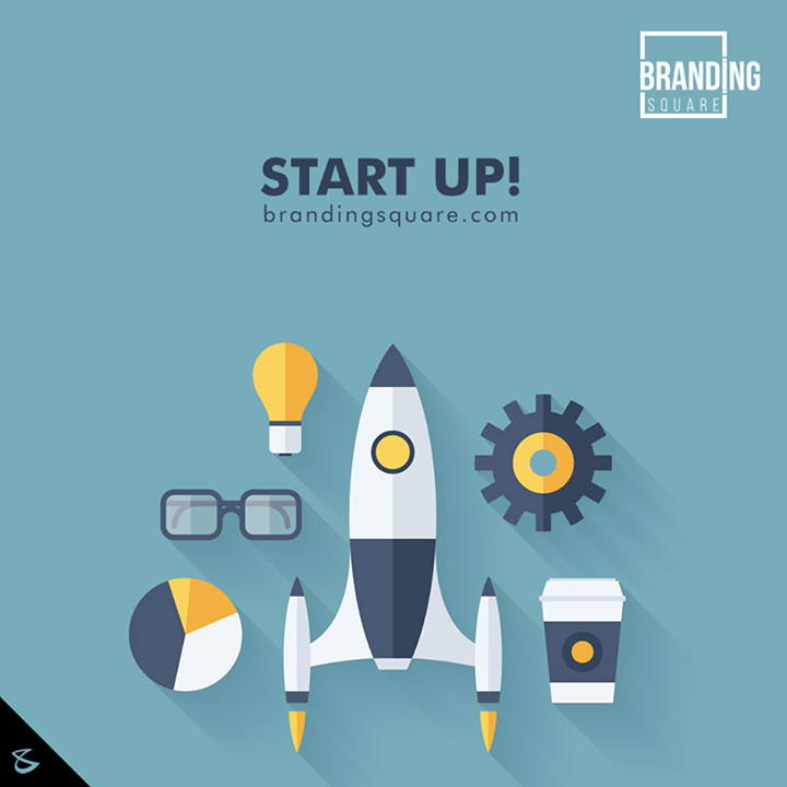 Start up! We are there to help you.  #Business #Technology #Innovations #DigitalAgencyIndia #BrandingSquare