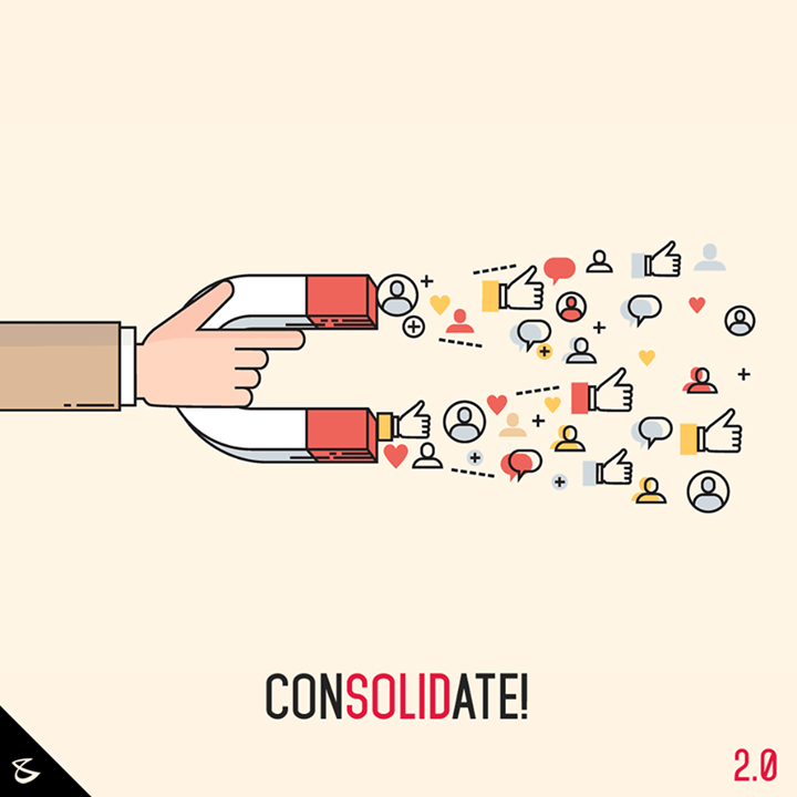 This #NewYear, it's time to #Consolidate your #Data!  #SocialMedia2point0 #Business #Technology #Innovations #DigitalAgencyIndia