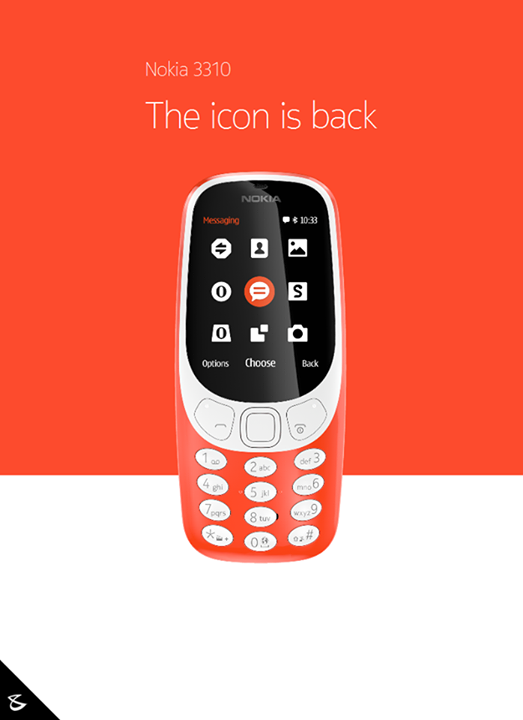 "#TechNews:  A modern classic re-imagined  The new #Nokia 3310 takes the iconic silhouette of the original and re-imagines it for 2017. The custom designed user interface brings a fresh look to a classic, whilst the 2.4"" polarized and curved screen window makes for better readability in sunlight.  #Business #Technology #Innovations #Nokia3310"