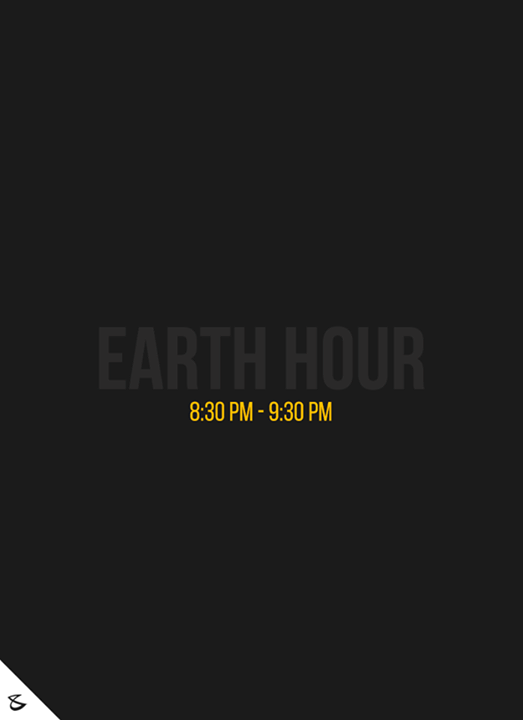 Join Earth hour the world's biggest celebration for the planet. Turn OFF the lights from 8:30pm to 9:30pm  #EarthHour #EarthHour2017 #CompuBrain #Business #Technology #Innovations