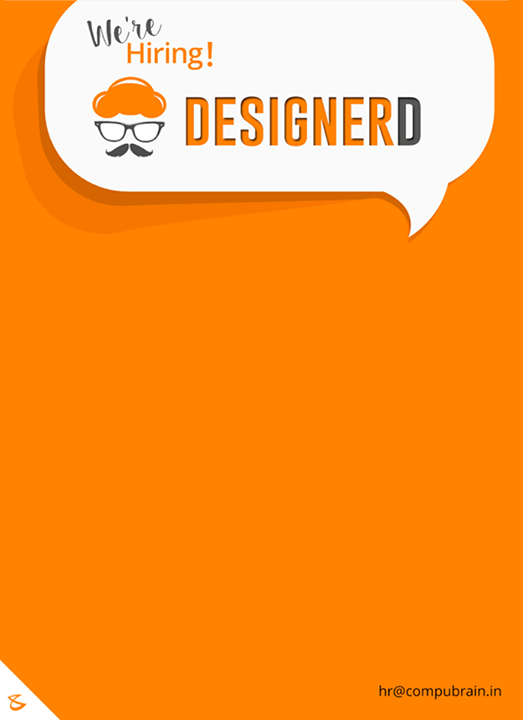 Do you know of a #desigNERD?  #CompuBrain #GraphicDesigners #Designers