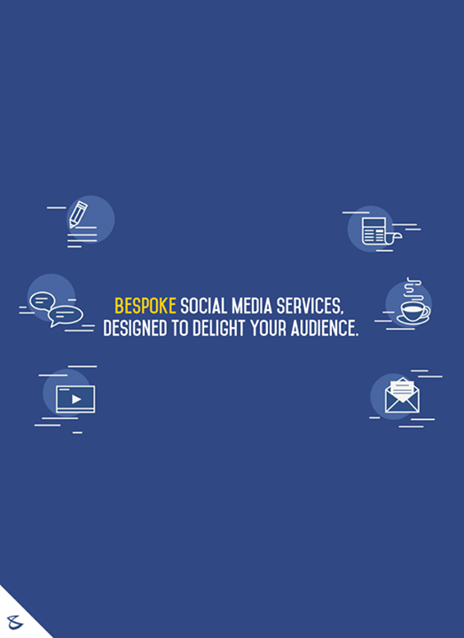 #Bespoke social media services, designed to delight your audience.  #Business #Technology #Innovations #SocialMediaServices