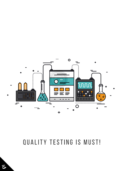 Quality Testing is must!  #CompuBrain #Business #Technology #Innovations #QualityTesting