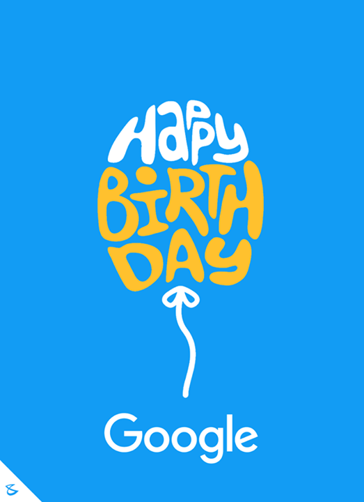 Happy birthday Google!  #Business #Technology #Innovations #CompuBrain