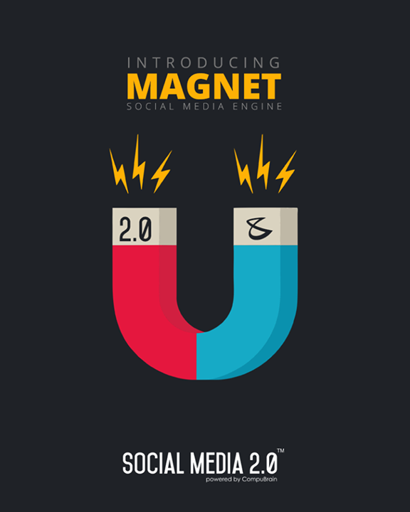 Introducing **MAGNET** the social media engine!  #SocialMedia2p0 #DigitalConsolidation #CompuBrain #sm2p0 #contentstrategy #SocialMediaStrategy #DigitalStrategy