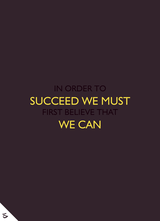**In order to succeed we must first believe that we can**  #MondayMotivation #CompuBrain #Business #Technology #Innovations