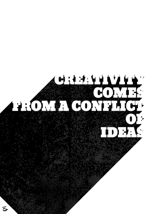 #Creativity comes from a conflict of **I D E A S**  #CompuBrain #Business #Technology #Innovations