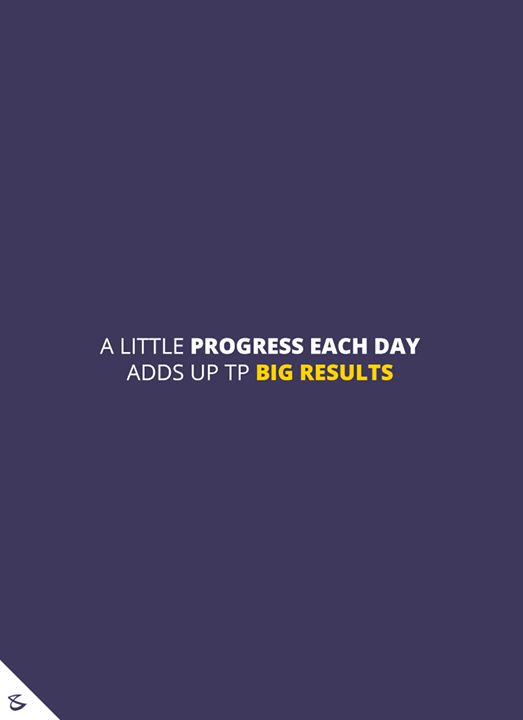 A little progress each day adds up to big results!   #CompuBrain #Business #Technology #Innovations #Motivation