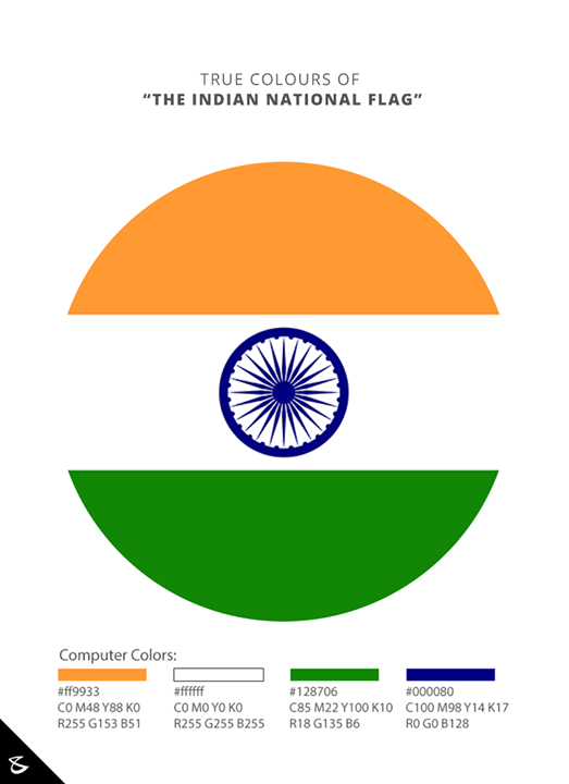 Attention Graphic Designers and Social Media Managers! Republic Day is around and we are sure your clients' Republic Day Creative is already on your list. Here's a ready reckoner for the exact colours and size proportions that you should follow for the Indian National Flag.  Lets make it uniform across the Internet and preserve the pride of our National Flag.  #IndianNationalFlag #India #RepublicDay #26thJanuary #IndianRepublicDay #RepublicDay2017 #IndianFlagManual  The standard sizes of the National Flag as per the Flag Code of India shall be as follows: Dimensions in mm 6300x4200 | 3600x2400 | 2700x1800 1800x1200 | 1350x900 | 900x600 450x300 | 225x150 | 150x100 You may hence choose your proportions appropriately.  A sincere initiative by #CompuBrain  More Details on www.compubrain.com/IndianFlagManual