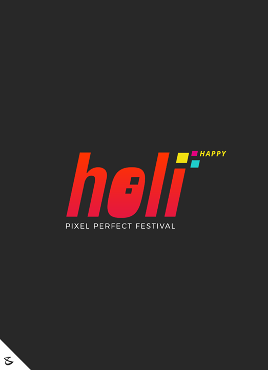 Have a P I X E L perfect #Holi!   #HappyHoli #Holihai #HoliFestival #IndianFestivals #Holi2018 #CompuBrain #Business #Technology #Innovations
