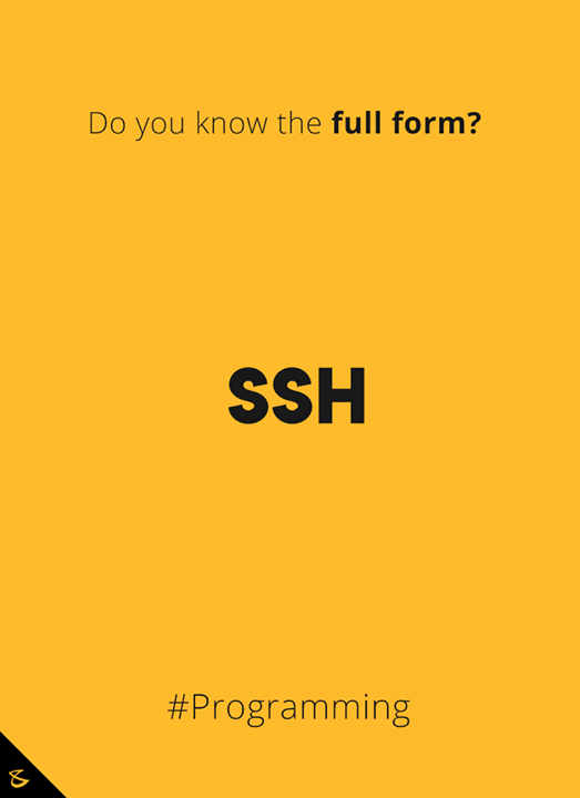 Do you know the full form?  #DidYouKnow #Business #Technology #Innovations #SSH