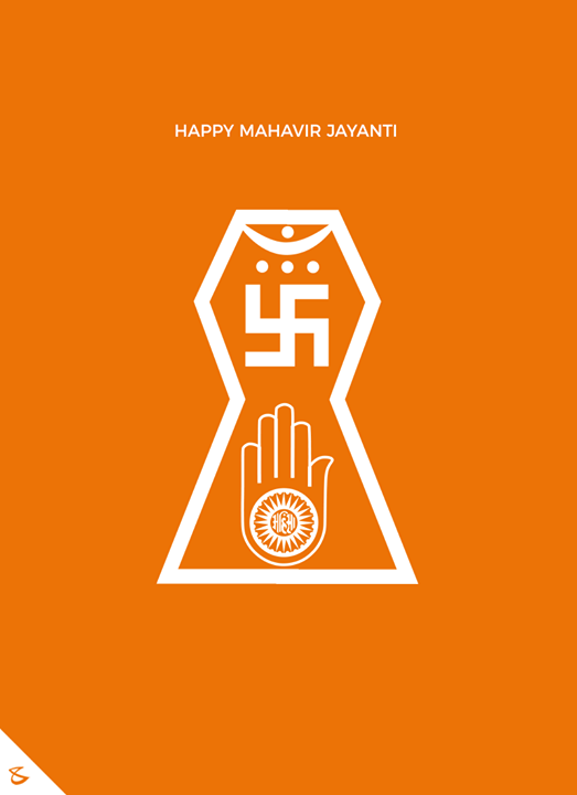 Let your spirit be filled with Ahimsa & Truth!   #CompuBrain #MahavirJayanti2018 #MahavirJayanti