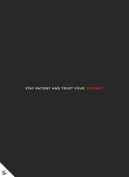 Stay Patient and Trust Your Journey  #Business #Technology #Innovations