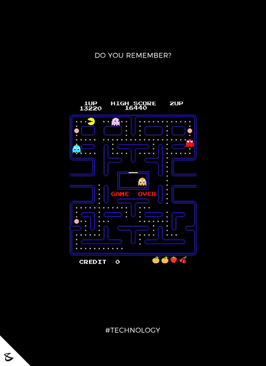 Do you remember this Game?  #CompuBrain #Business #Technology #Innovations #Pacman
