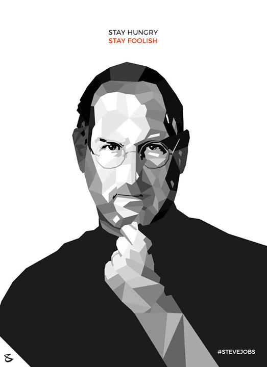 Stay Hungry, Stay Foolish  #Business #Technology #Innovations #CompuBrain #SteveJobs #Apple