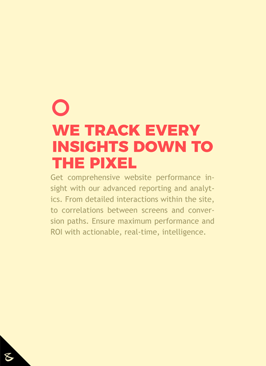We track every insights down to the pixel  #CompuBrain #Business #Technology #Innovations #DigitalMediaAgency #Gujarat