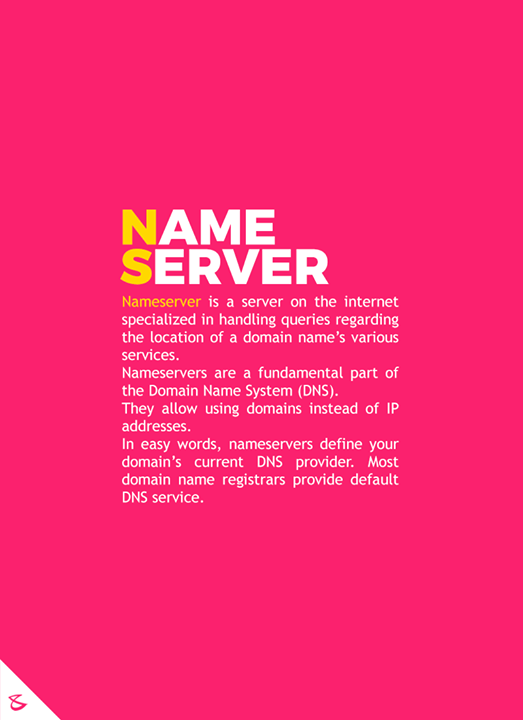 Do you know  #CompuBrain #Business #Technology #Innovations #DigitalMediaAgency #NameServer #NS