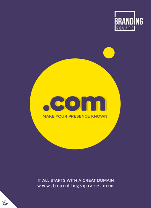 Make your presence known  #CompuBrain #Business #Technology #Innovations #DigitalMediaAgency #BrandingSquare #Domain