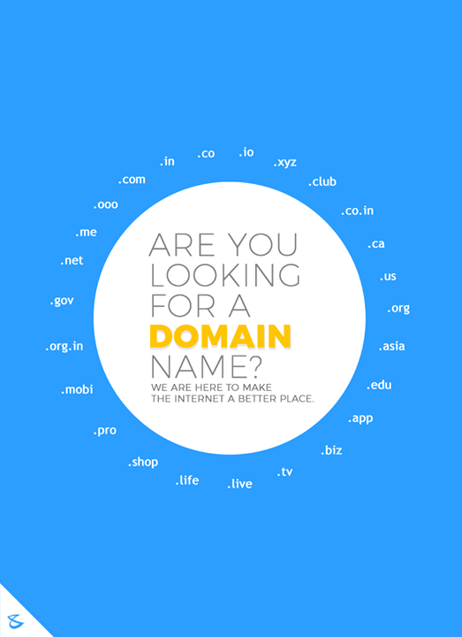 Are you looking for a domain name?  #CompuBrain #Business #Technology #Innovations #DomainRegistration #DomainAcquisition #Domain