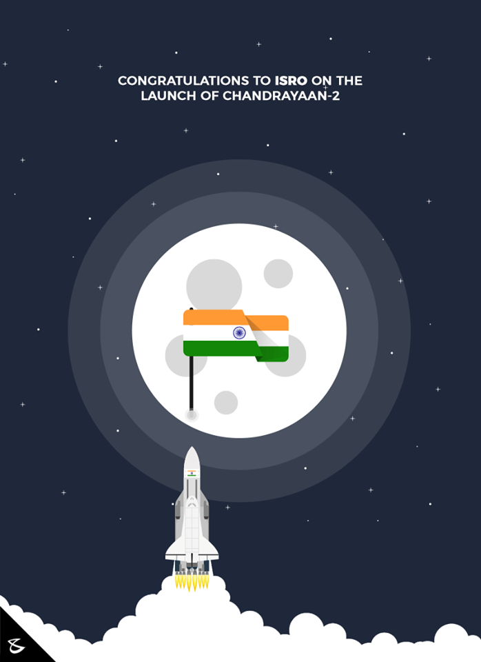 Congratulations to #Isro on the launch of #Chandrayaan-2  #CompuBrain #Business #Technology #Innovations