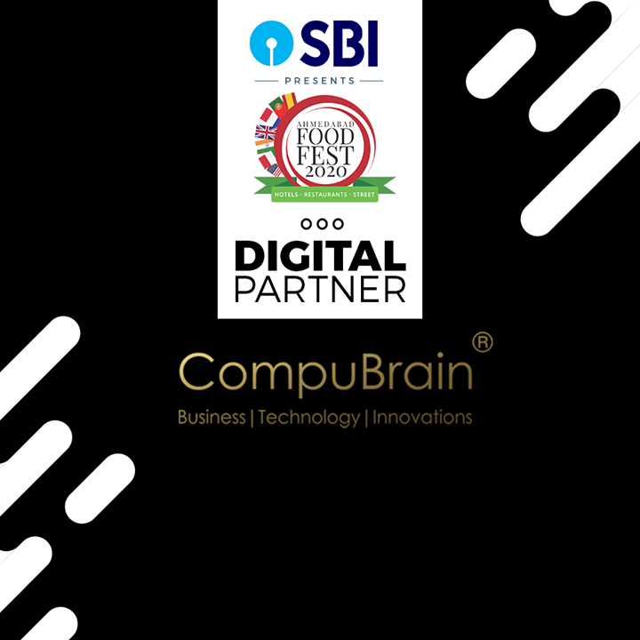 Proud to be associated with Ahmedabad Food Fest!  #AFF2020 #Business #Technology #Innovations #CompuBrain