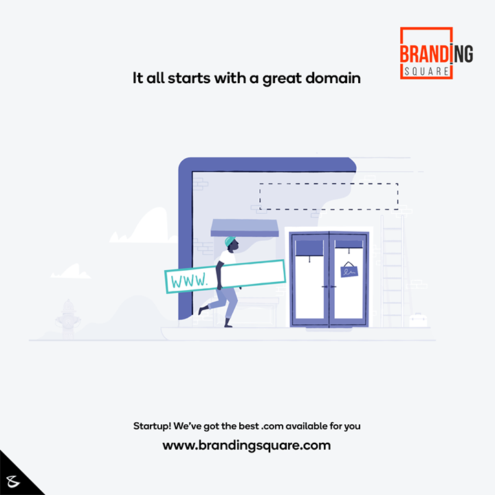It all starts with a great domain  for more visit: https://www.brandingsquare.com/  #Business #Technology #Innovations #CompuBrain #BrandingSquare #Domains #Domain