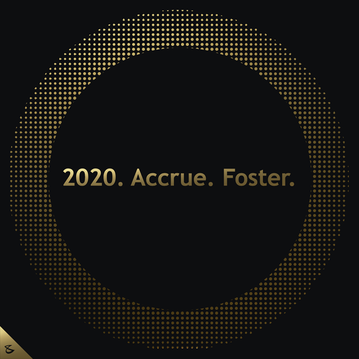 2020. Accrue. Foster.  #Business #Technology #Innovations #CompuBrain #Vision #Vision2020