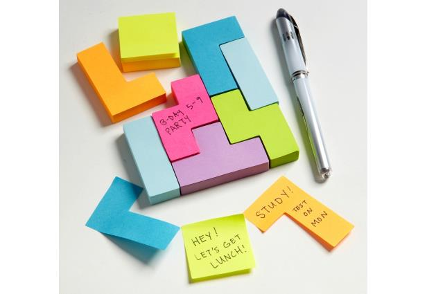 "After an awesome roundup of accessories to organize your office here are some fun notepads. From ""social"" sticky notes to LEGO notebooks to Google Doodle notecards, its all here."