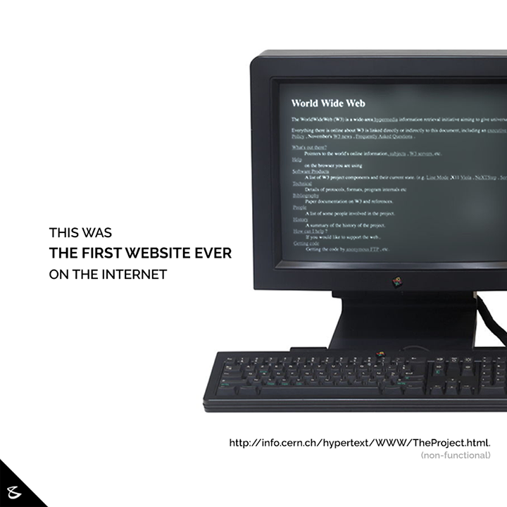 The first web page went live on August 6, 1991. It was dedicated to information on the World Wide Web project and was made by Tim Berners-Lee. It ran on a NeXT computer at the European Organization for Nuclear Research, CERN.  On Christmas day of 1990, Berners-Lee created the first successful communication between an HTTP client and a server. From there he designed and built the first Web browser, and the first Web page went live on August 6, 1991. There are no screenshots of the original page, but this is the closest copy, taken in 1992.   While Berners-Lee is credited for the invention of the World Wide Web, he did not invent the Internet. The two are not one and the same.  Source: Business Insider  #FirstWebsite #WorldWideWeb #TimBernersLee #CompuBrain #WebDesign