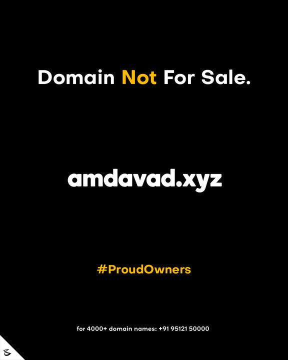 It's all in the Doname sorry Domain!   #Amdavadi #Institutionalization #CompuBrain #Business #Technology #Innovations