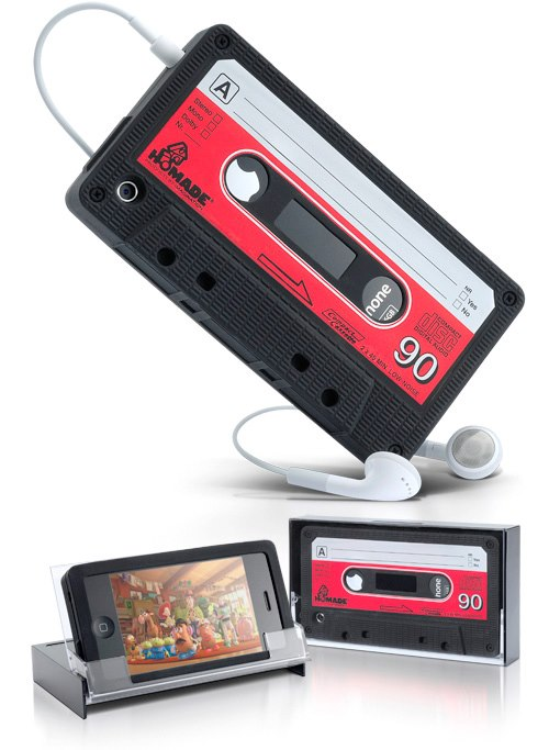 :: iPhone Retro Cassette Cover ::