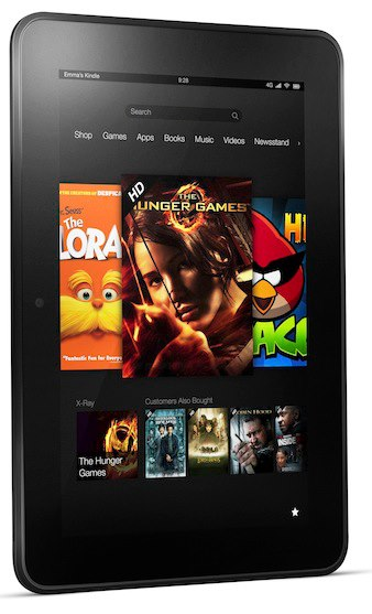 Amazon unveils Kindle Fire HD tablets -
