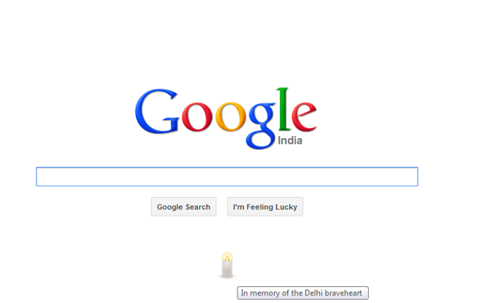 Did you happen to check the Google India homepage today?
