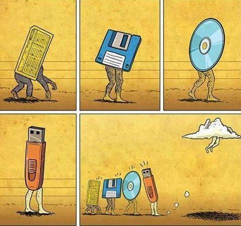 Evolution of Data Storage!!