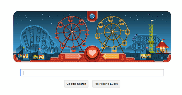 George Ferris's birthday marked by Valentine's Day Google doodle-