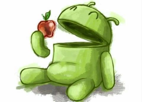 Android - Apple, LOL:)