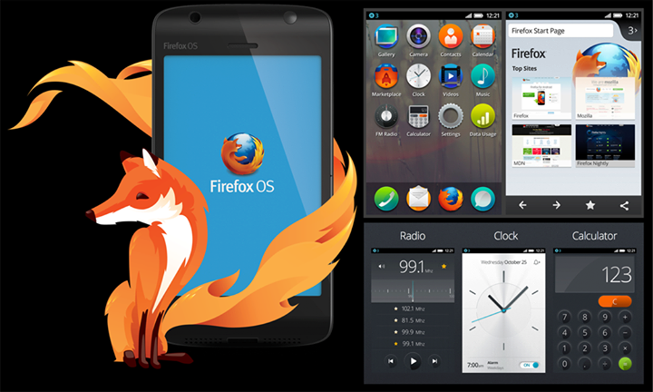 "Firefox OS for Mobile device is coming..  Originally introduced as the Boot2Gecko (B2G) project, Firefox OS is a next-generation operating system that is describes as ""magical"". This platform has the potential to break the mobile OS space open.  Firefox OS is far from the screenshots in the blog post. The graphics are cleaner and based from a video of a Firefox OS demo, the interaction is smoother and tighter.  The way it is shaping up, the Mobile OS as we know it is on its was to be ""webified,"" ie, folks who know how to code using HTML, CSS, and JavaScript can make full-fledged apps.  Because Firefox OS is constructed using HTML, JavaScript and CSS it means you only need basic Web development skills to reach in and completely change the device experience. You could literally change one line of CSS and completely change the way the icons on the homescreen look, or re-write some core JavaScript files that handle phone-calls.  Folks in Brazil will get to see a mass-market release of affordable phones (not iPhone-level for sure) with Firefox OS via Telefonica, and this will be a testbed for how this new OS will be deployed commercially. Hacker-types can of course download Firefox OS and install an instance on their phones (Android phones most likely) and even already write apps.  Let's see how Firefox OS will progress in the next few months."