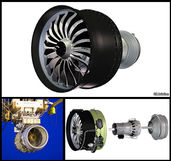 A More Efficient Jet Engine Is Made from Lighter Parts, Some 3-D Printed
