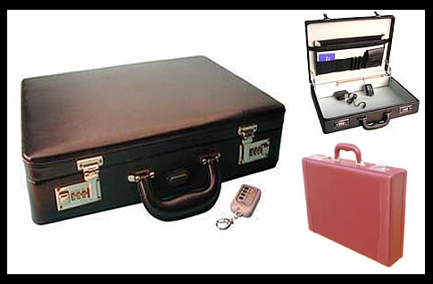80,000 Volt Electric Briefcase