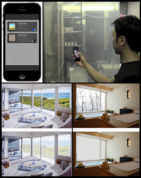Now, control a window's opacity with a smartphone